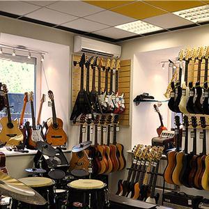 Музыкальные магазины Кабардинки